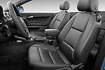 Front seat view of a 2003 - 2012 Audi A3 Attraction 2-Door Convertible.