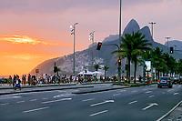 Entardecer na Avenida Vieira Souto, Rio de Janeiro. 2019. Foto © Juca Martins