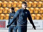 St Johnstone Training….26.01.18<br />Keith Watson pictured during a training session at McDiarmid Park this morning ahead of tommorrow's game against Partick Thistle.<br />Picture by Graeme Hart.<br />Copyright Perthshire Picture Agency<br />Tel: 01738 623350  Mobile: 07990 594431