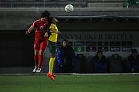 20190301 - LARNACA , CYPRUS : Korean Jon So Yon pictured during a women's soccer game between South Africa and Korea DPR , on Friday 1 March 2019 at the AEK Arena in Larnaca , Cyprus . This is the second game in group A for Both teams during the Cyprus Womens Cup 2019 , a prestigious women soccer tournament as a preparation on the Uefa Women's Euro 2021 qualification duels. PHOTO SPORTPIX.BE   STIJN AUDOOREN