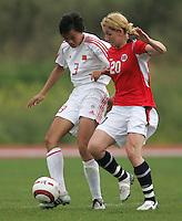 MAR 15, 2006: Albufeira, Portugal:  Lise Klaveness, Jie Li