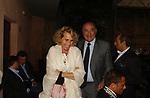GIUSEPPE DE RITA CON STEFANIA CRAXI<br /> PREMIO LETTERARIO CAPALBIO 2003