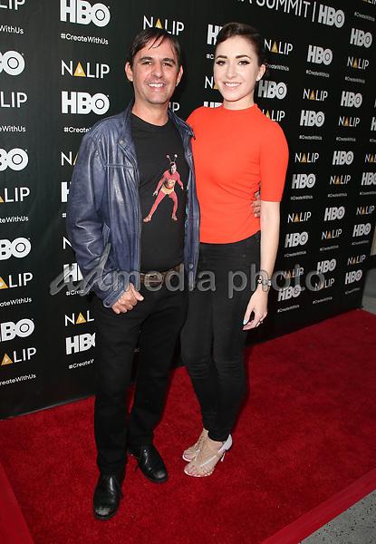 24 June 2017 - Hollywood, California - Roberto Orci, Adele Heather Taylor. 2017 NALIP Latino Media Awards held at W Hollywood. Photo Credit: F. Sadou/AdMedia