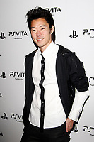 LOS ANGELES - FEB 15:  Aaron Yoo at the Sony PlayStationAE Unveils PS VITA Portable Entertainment System at the Siren Studios on February 15, 2012 in Los Angeles, CA