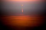 Sunset in Prince William Sound. Alaska. United States of America.