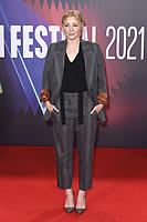 Juliet Rylance bei der Premiere des Kinofilms 'The Lost Daughter' auf dem 65. BFI London Film Festival 2021 in der Royal Festival Hall. London, 13.10.2021 . Credit: Action Press/MediaPunch **FOR USA ONLY**