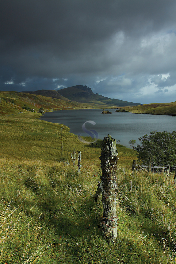 The Old Man of Storr from Loch Leathan, Isle of Skye, Inner Hebrides<br /> <br /> Copyright www.scottishhorizons.co.uk/Keith Fergus 2011 All Rights Reserved