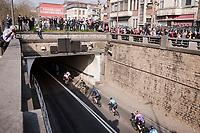 leaving Antwerp underneath the Schelde river<br /> <br /> 103rd Ronde van Vlaanderen 2019<br /> One day race from Antwerp to Oudenaarde (BEL/270km)<br /> <br /> ©kramon
