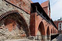 Alte Stadtmauer in Riga, Lettland, Europa, Unesco-Weltkulturerbe
