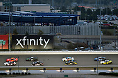 #20: Harrison Burton, Joe Gibbs Racing, Toyota Supra Morton Buildings/DEX Imaging and #7: Justin Allgaier, JR Motorsports, Chevrolet Camaro BRANDT