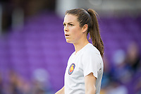 Orlando, FL - Saturday March 24, 2018: Utah Royals forward Kelley O'Hara (5) prior to a regular season National Women's Soccer League (NWSL) match between the Orlando Pride and the Utah Royals FC at Orlando City Stadium. The game ended in a 1-1 draw.