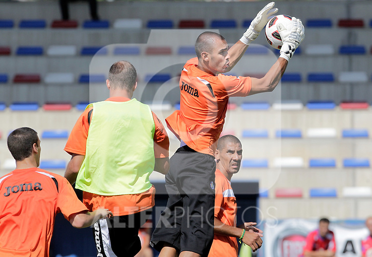 Getafe's Jordi Codina during trainning session. July 21, 2010. (ALTERPHOTOS/Alvaro Hernandez)