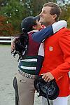 Boyd Martin and  Ying Yang Yo Win the CCI 3* Dansko  at  Fair Hill International in Fair Hill, MD  on 10/16/11.  (Ryan Lasek / Eclipse Sportwire)
