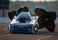 Aug 18, 2017; Brainerd, MN, USA; NHRA funny car driver Brian Stewart during qualifying for the Lucas Oil Nationals at Brainerd International Raceway. Mandatory Credit: Mark J. Rebilas-USA TODAY Sports