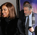 Grace Hightower and Robert De Niro attend the Broadway Opening Night Perfomance of  'A Bronx Tale'  at The Longacre on December 1, 2016 in New York City.