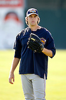 August 6, 2009:  Pitcher Collin McHugh of the Brooklyn Cyclones during a game at Dwyer Stadium in Batavia, NY.  The Cyclones are the Short-Season Class-A affiliate of the New York Mets.  Photo By Mike Janes/Four Seam Images