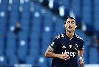Football, Serie A: S.S. Lazio - Juventus Olympic stadium, Rome, November 8, 2020. <br /> Juventus' Cristiano Ronaldo looks on during the Italian Serie A football match between Lazio and Juventus at Olympic stadium in Rome, on November 8, 2020.<br /> UPDATE IMAGES PRESS/Isabella Bonotto