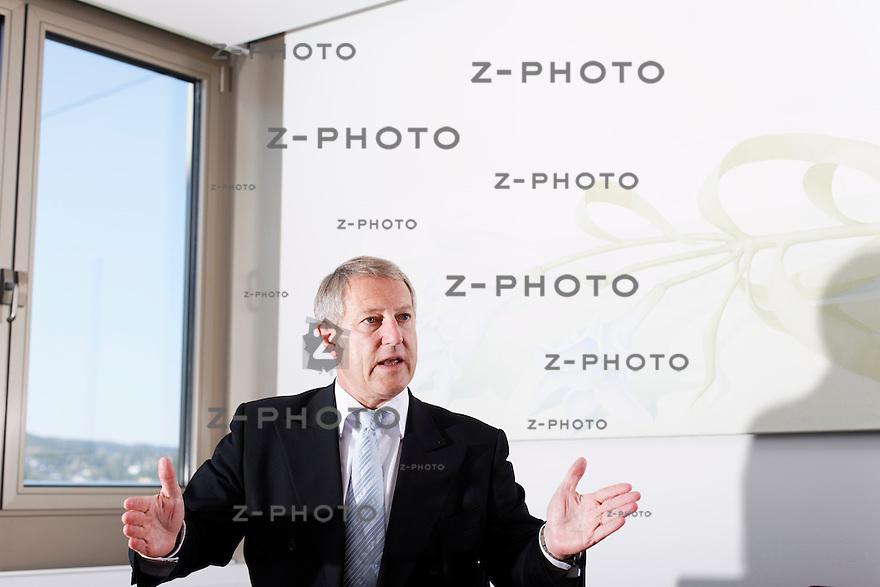 Interview mit Urs Berger Chef Mobiliar Versicherung im Hauptsitz an der Bundesgasse 35 in Bern am 30. Mai 2011..Copyright © Zvonimir Pisonic