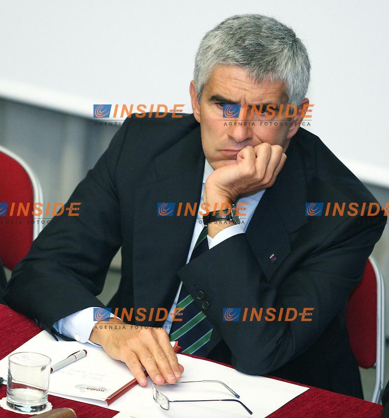 """Roma 09-10-2006 UIL:Convegno dal titolo """"le riforme, una rivoluzione necessaria"""".<br /> Nella foto Pier Ferdinando Casini<br /> Photo Samantha Zucchi Inside"""