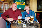 Enjoying the evening in Sean Og's on Thursday, l to r: Tony O'Brien and Christine Callanan.