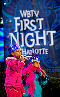 Series of images from WBTV First Night Charlotte, an annual New Year's celebration in center city Charlotte, NC. Artists, dancers, comedians, musicians and magicians performed throughout the day-long family friendly event on December 31, 2012 to January 1, 2013.