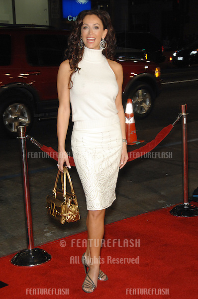 """SOFIA MILOS at the US premiere of """"The Fountain"""" at Grauman's Chinese Theatre, Hollywood..November 11, 2006  Los Angeles, CA.Picture: Paul Smith / Featureflash"""