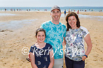 Enjoying the afternoon on Ballybunion beach on Sunday, l to r: Emily, John and Theresa Costello from Ballybunion.