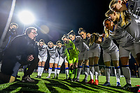 Club Brugge YLA ready for the game pictured before a female soccer game between  Racing Genk Ladies and Club Brugge YLA on the 10 th matchday of the 2020 - 2021 season of Belgian Scooore Womens Super League , friday 18 th of December 2020  in Genk , Belgium . PHOTO SPORTPIX.BE | SPP | STIJN AUDOOREN