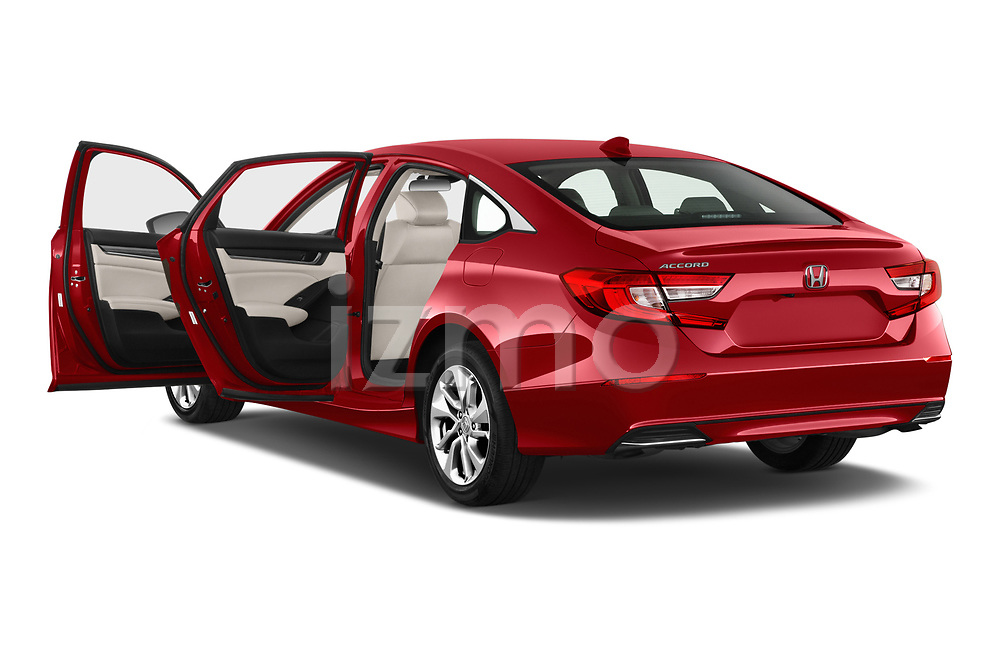 Car images close up view of a 2019 Honda Accord LX 4 Door Sedan doors