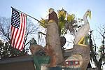 Tree Trunk Carvings, Black Hammock Restaurant, Ovieda near Orlando, Florida