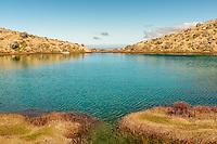 Emerald Lake on Tongariro Alpine Crossing, Tongariro National Park, Central Plateau, Ruapehu Region, North Island, UNESCO World Heritage Area, New Zealand, NZ