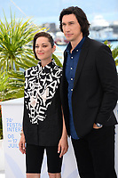 CANNES, FRANCE. July 6, 2021: Marion Cotillard & Adam Driver at the photocall for Annette at the 74th Festival de Cannes.<br /> Picture: Paul Smith / Featureflash