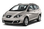 2014 Seat ALTEA XL I-TECH Special 5 Door Mini MPV 2WD Angular Front stock photos of front three quarter view