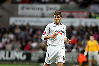 Pictured: Gorka Pintado of Swansea City in action <br /> Re: Coca Cola Championship, Swansea City Football Club v Southampton at the Liberty Stadium, Swansea, south Wales 25 October 2008.<br /> Picture by Dimitrios Legakis Photography, Swansea, 07815441513