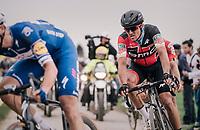 defending Roubaix champion Greg Van Avermaet (BEL/BMC)<br /> <br /> 116th Paris-Roubaix (1.UWT)<br /> 1 Day Race. Compiègne - Roubaix (257km)