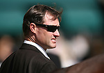 9 May 2009: Trainer Ron Ellis  prior to the 30th running of the Mervin LeRoy Handicap at Hollywood Park in Inglewood, CA .