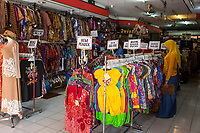 Yogyakarta, Java, Indonesia.  Women's  Dress Shop, Malioboro Street.