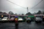 Torrential rain in Cherrapunji nestled in East Khasi Hills - the wettest place on Earth. Arindam Mukherjee.