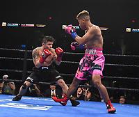 ONTARIO, CA - DECEMBER 21: Jhack Tepora v Oscar Escandon on the Fox Sports PBC Fight Night at Toyota Arena on December 21, 2019 in Ontario, California. (Photo by Frank Micelotta/Fox Sports/PictureGroup)