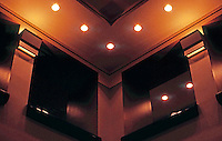 Michael Graves: Portland Building. Detail--Ceiling, Lobby.  Photo '86.
