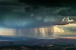 Rainstorm over canyonlands, Moab, Utah