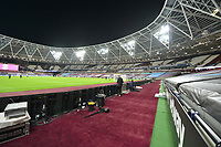 General view of the London Stadium During Covid 19 during during West Ham United vs Newcastle United, Premier League Football at The London Stadium on 12th September 2020