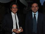 MICHEL MARTONE E ROCCO CRIMI<br /> PREMIO GUIDO CARLI - QUARTA EDIZIONE<br /> RICEVIMENTO HOTEL MAJESTIC ROMA 2013