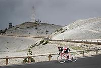 Harry Sweeny (AUS/Lotto Soudal) descending the Mont Ventoux<br /> <br /> Stage 11 from Sorgues to Malaucène (199km) running twice over the infamous Mont Ventoux<br /> 108th Tour de France 2021 (2.UWT)<br /> <br /> ©kramon