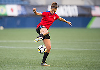 Seattle, WA - July 26, 2017: The USWNT trains prior to the first match of the Tournament of Nations at CenturyLink Field.