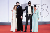 Fabio D'Innocenzo, Carlotta Gamba, Damiano D'Innocenzo attending the America Latina Premiere as part of the 78th Venice International Film Festival in Venice, Italy on September 09, 2021. <br /> CAP/MPI/IS/PAC<br /> ©PAP/IS/MPI/Capital Pictures