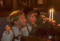 Europe/Autriche/Tyrol/Innsbruck: Le marché de Noël [Non destiné à un usage publicitaire - Not intended for an advertising use]<br /> PHOTO D'ARCHIVES // ARCHIVAL IMAGES<br /> FRANCE 1990