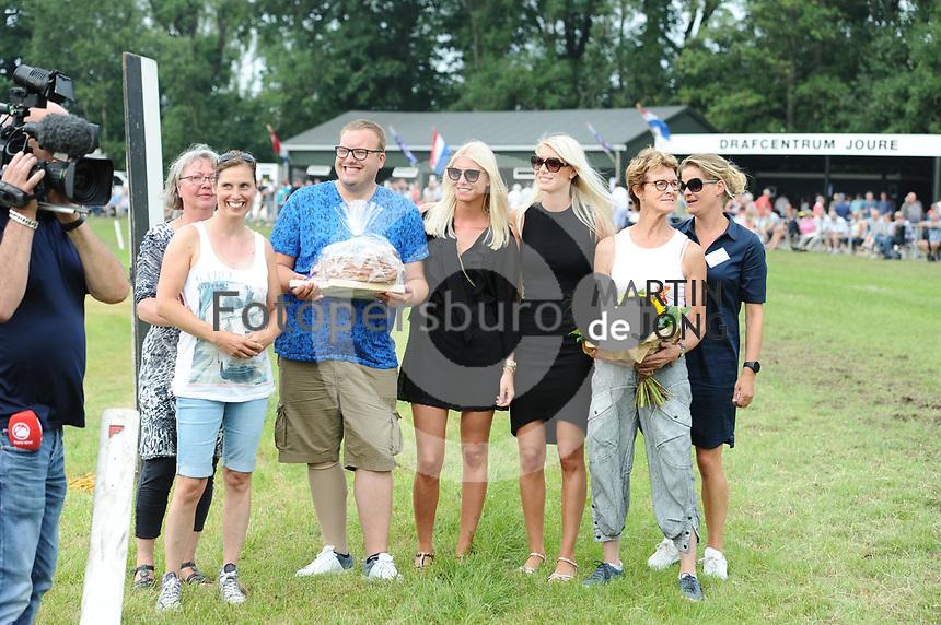 PAARDENSPORT: JOURE: 2017, Nutsbaan, Swipedei draf en ren vereniging, ©foto Martin de Jong