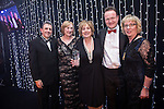 © Joel Goodman - 07973 332324 . 05/03/2015 .  Midland Hotel , Manchester , UK . L-R Eamonn O'Neill , winners Catherine Jones and Beth Watkins of JMW Solicitors LLP , sponsor ( Brown Shipley ) and Louise Straw . Private Client Team of the Year . The Manchester Legal Awards 2015 . Photo credit : Joel Goodman