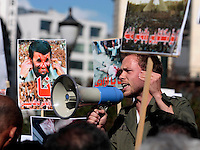Politician Audun Lysebakken speak during a demonstration in Oslo, Norway, following the election in Iran. A protest arranged by Amnesty International Norway was held in front of the Norwegian Parliament, before Iranian diaspora and others marched to the Iranian embassy to continue their protest. .©Fredrik Naumann/Felix Features.